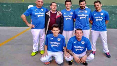 ferrOKey La llave cierra un gran año como subcampeón de Primera Categoría frontenis