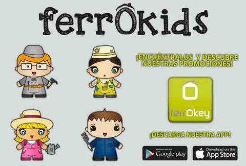 ¿Conoces a nuestros ferrOkids? Encuéntralos en los catálogos ferrOKey y gana fantásticos regalos y descuentos