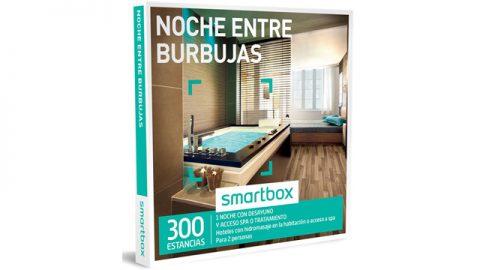 """Participa y gana un smartbox """"Noche entre burbujas"""""""