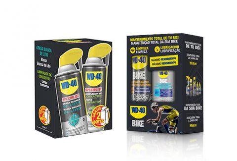 Participa y gana un pack de productos WD-40 para el cuidado de tu bici