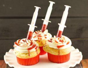 cupcakes y dulces comida halloween