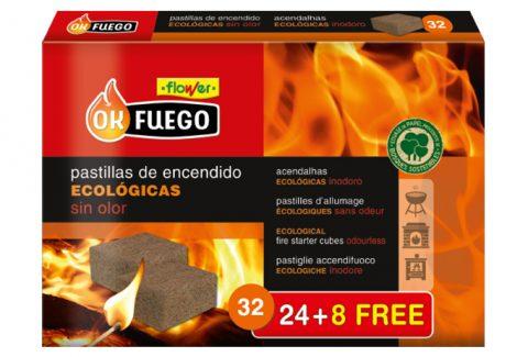 Enciende tu chimenea de forma ecológica con las pastillas de encendido OK Fuego