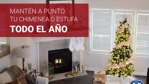 ¿Cómo mantener limpia tu chimenea todo el año?