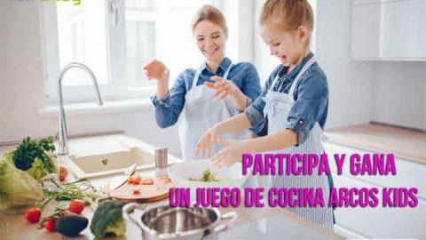 Sorteo Convierte la cocina en un juego de niños con Arcos Kids