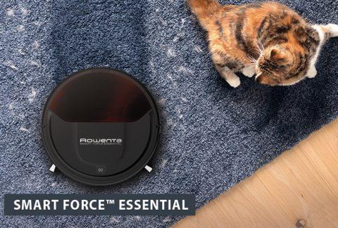 8 razones para comprar el nuevo robot aspirador Smart Force Essential de Rowenta