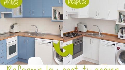 Reforma lowcost de tu cocina DIY-Hazlo tú mismo