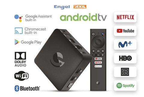 Gana  un receptor Andorid TV de Engel Axil y ¡convierte tu tele en una Smart TV!