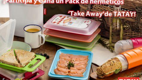 Sorteo Organiza tus comidas fácilmente con la gama Take away de TATAY