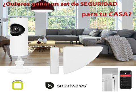 Sorteo Protege tu casa 24 horas con los sistemas de vigilancia domestica Smartwares