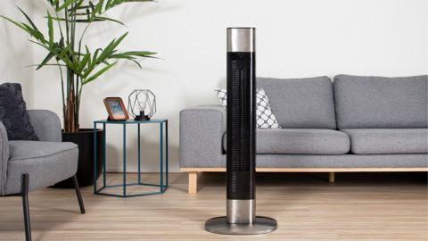 Combate el calor con el nuevo ventilador de torre Smart de Princess