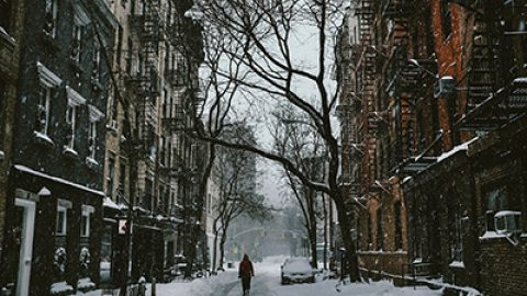 ¿Cómo hacer frente al temporal de nieve?
